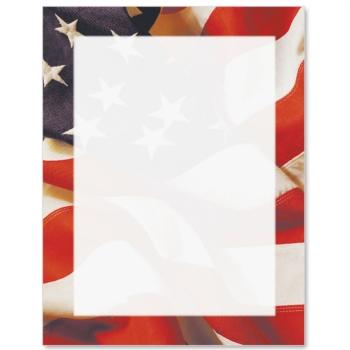 7 Best Images Of Printable Patriotic Paper Border