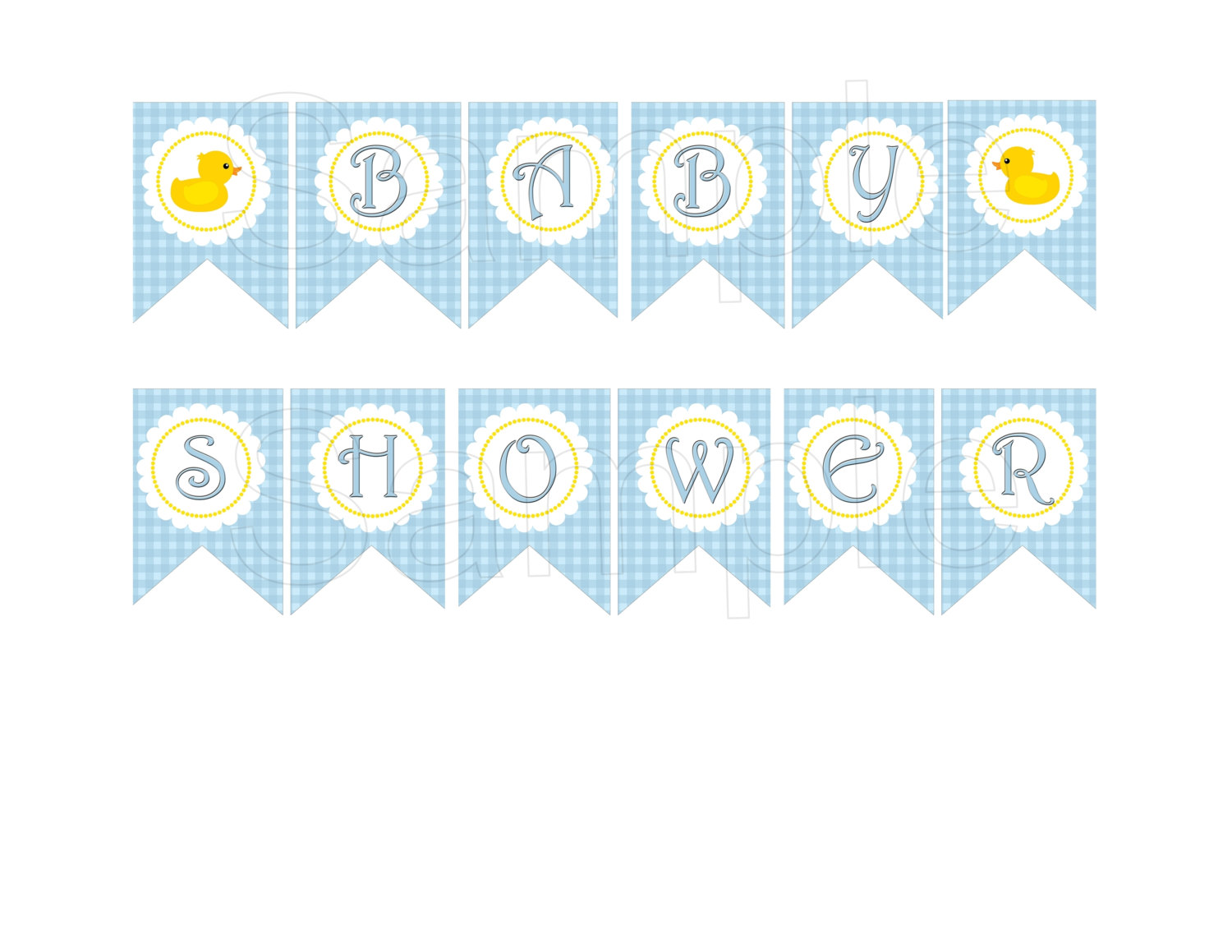 Baby Shower Printable Banners Party Blog With Free