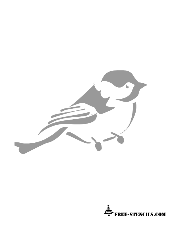 7 Images of Bird Stencils Printable