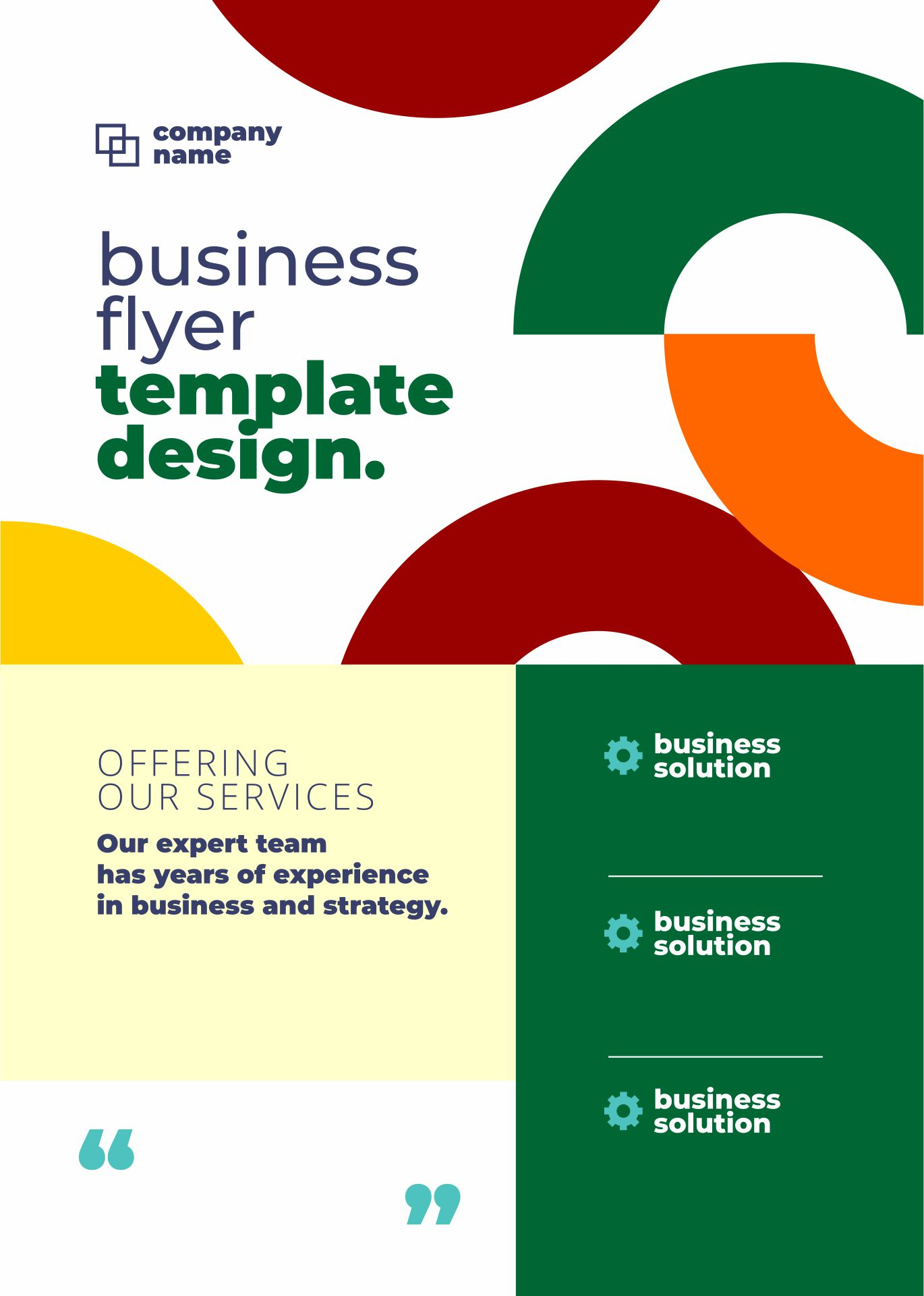 Free Printable Business Flyer Templates