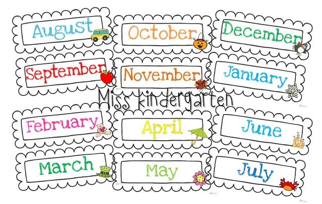 Calendar Monthly Headers : Best images of printable month headers free