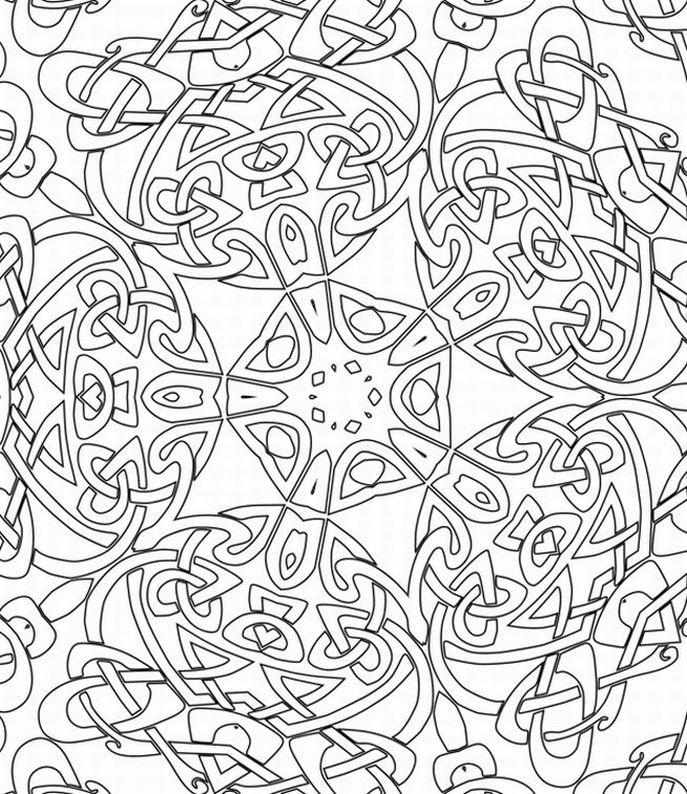 Free Printable Cool Coloring Pages for Adults