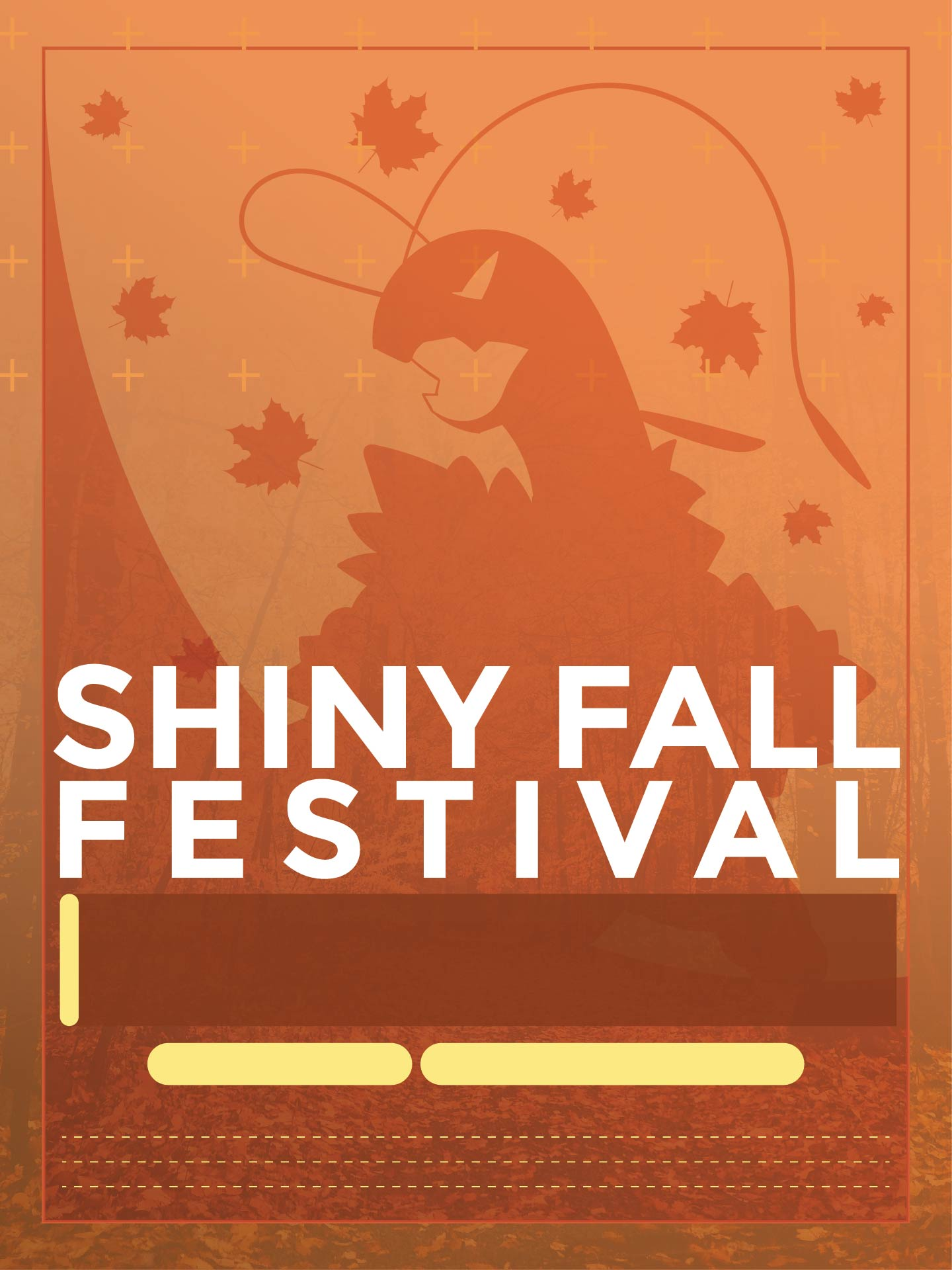 Free Printable Fall Festival Flyer Templates