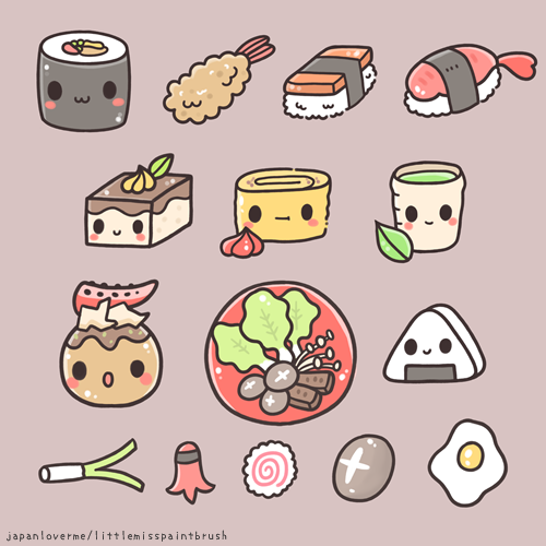 Free Printable Food Stickers