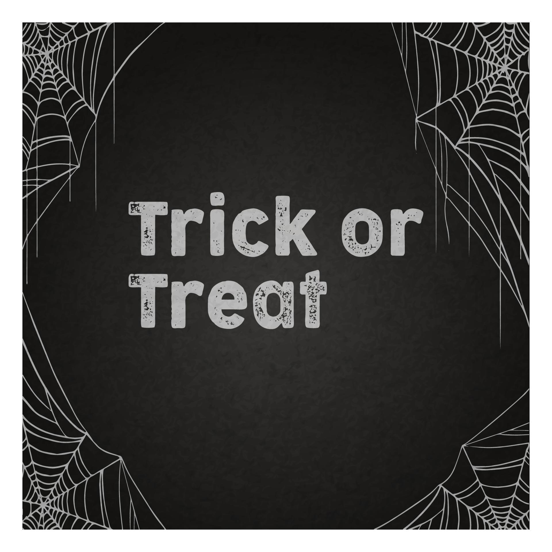 Printable Halloween Chalkboard Art