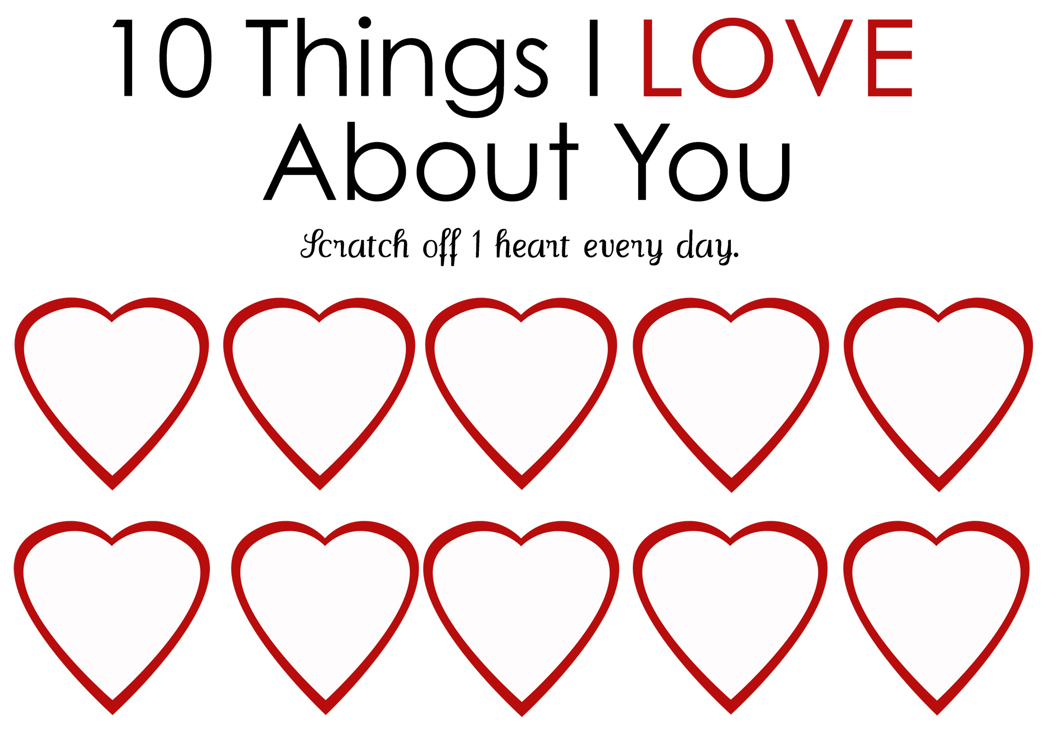 6 Images of Free Printable Valentine Template