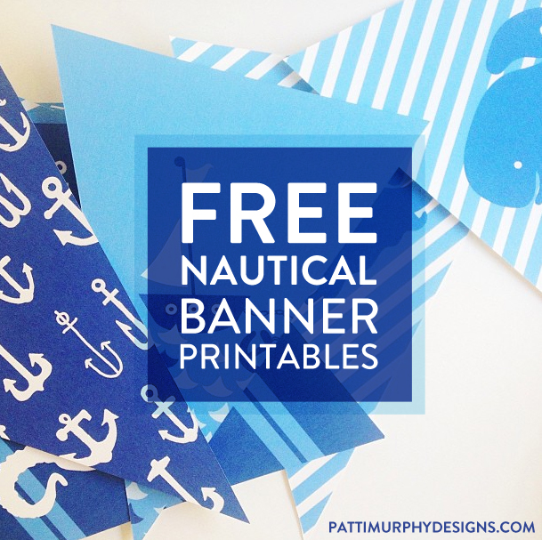 4 Images of Free Printable Nautical Stencils