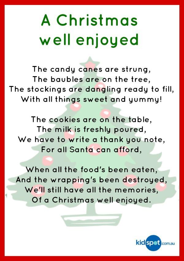 Funny Christmas Poems to Print