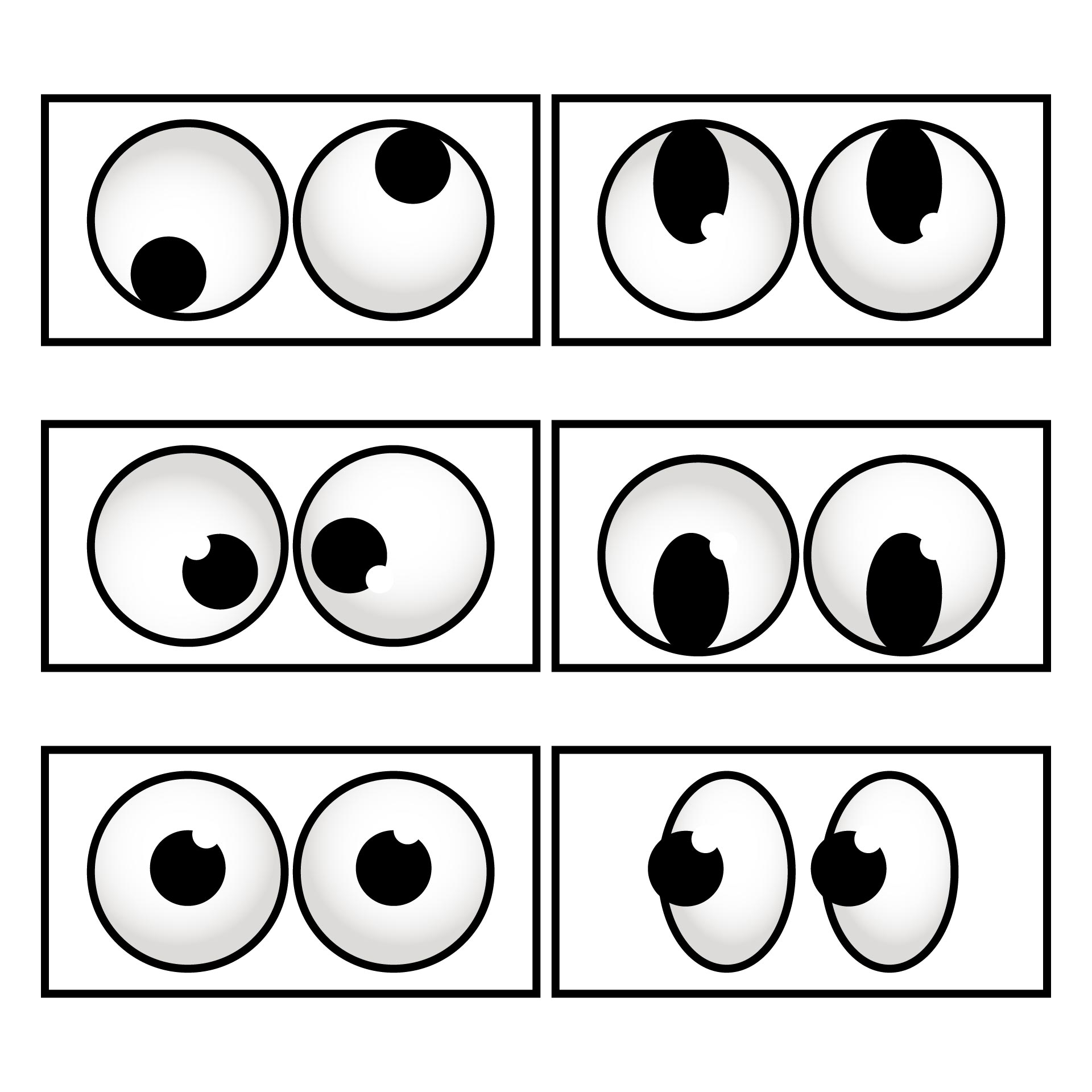 Best Images Of Printable Eye Patterns For Crafts Monster