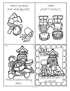 7 Images of Nursery Rhyme Sequencing Printables