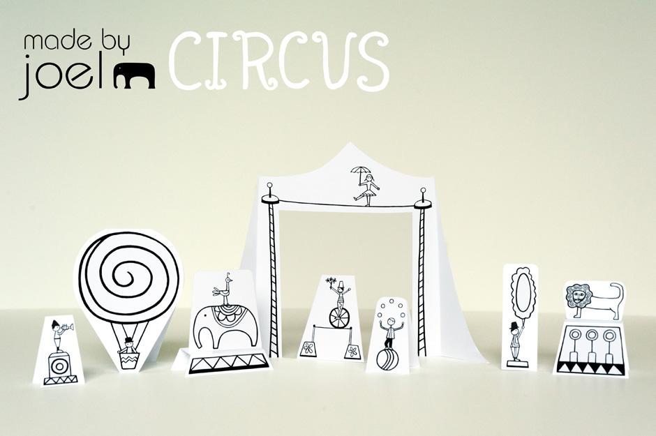 7 Images of Printable Circus Cutouts