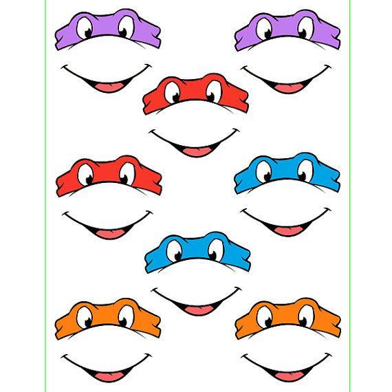Gallery For gt Ninja Turtle Eye Mask Printable