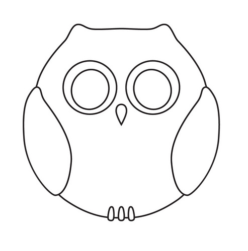 5 Images of Printable Owl Cut Outs