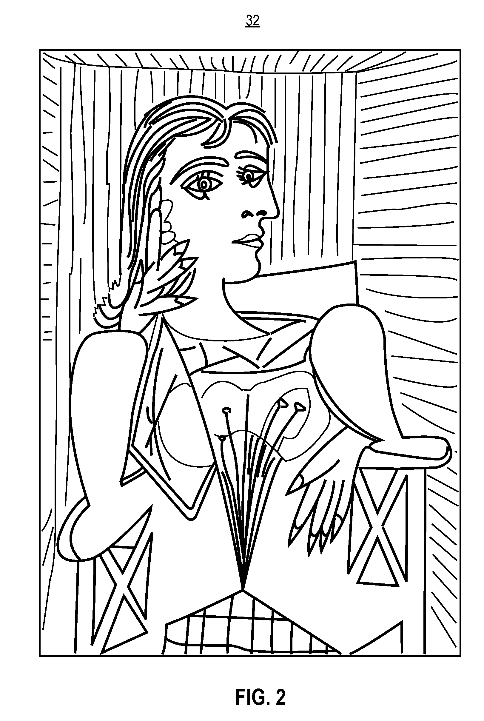 6 best images of picasso printable coloring pages free picasso printable coloring pages pablo. Black Bedroom Furniture Sets. Home Design Ideas