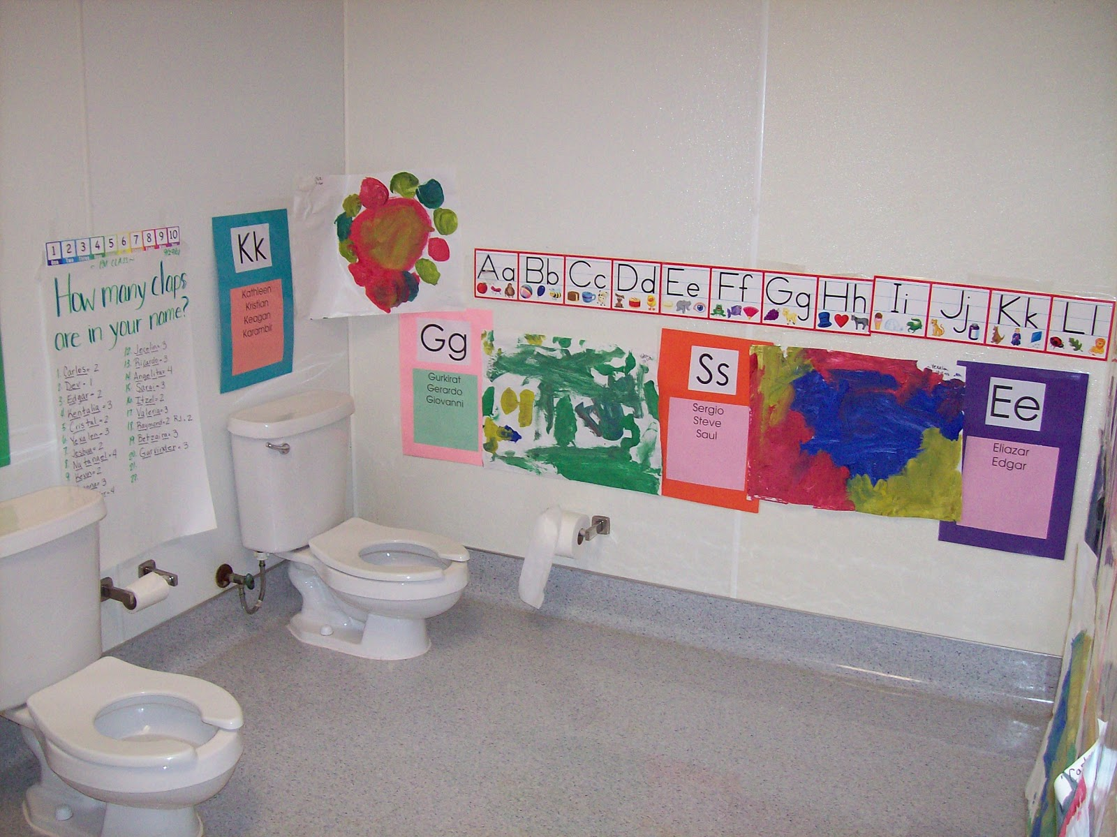 Classroom Ideas For Nursery ~ Best images of preschool printable bathroom labels