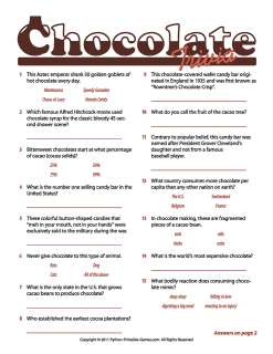 8 Images of Fun Printable Trivia For Seniors