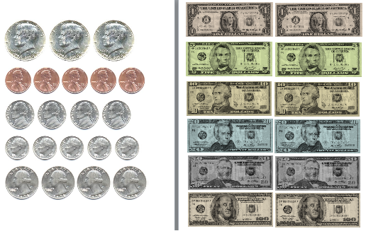 4 Images of Us Money Worksheets Free Printable