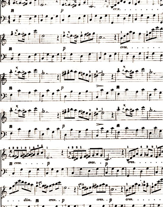 8 Images of Printable Sheet Music For Crafts