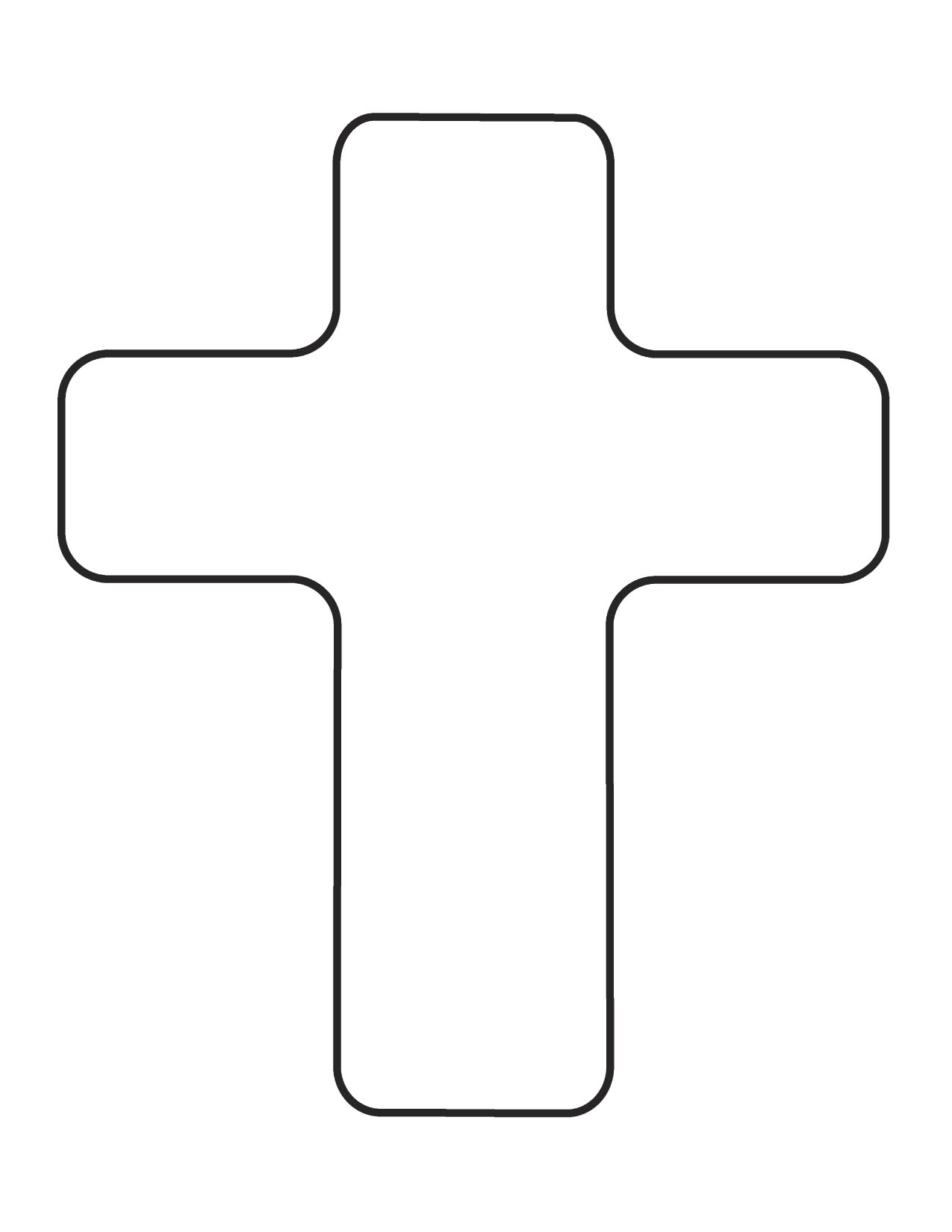 7 Images of Free Printable Crosses Clip Art