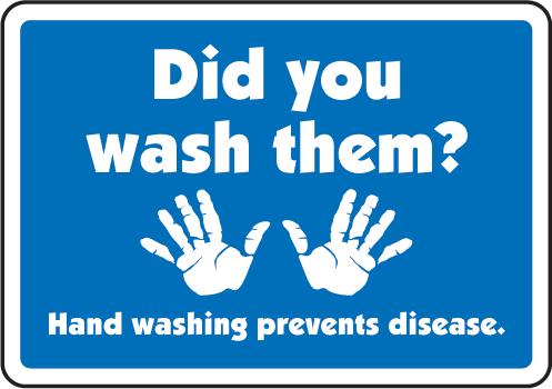 7 Images of Printable Restroom Signs Wash Hands