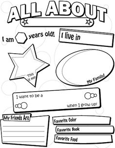 Printables Free Printable Back To School Worksheets 6 best images of school worksheets printables for teachers back to all about me