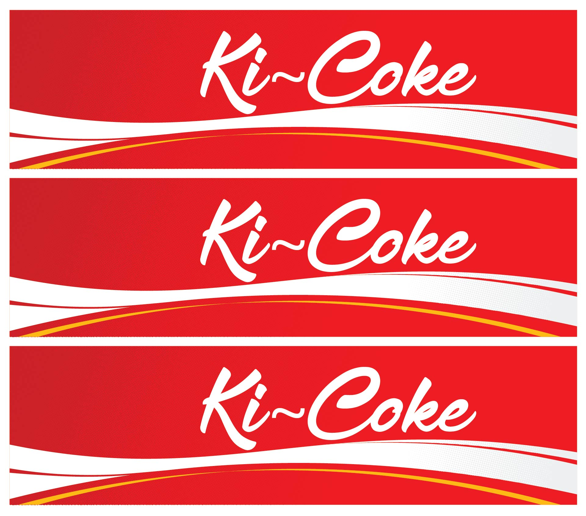 coke machine labels