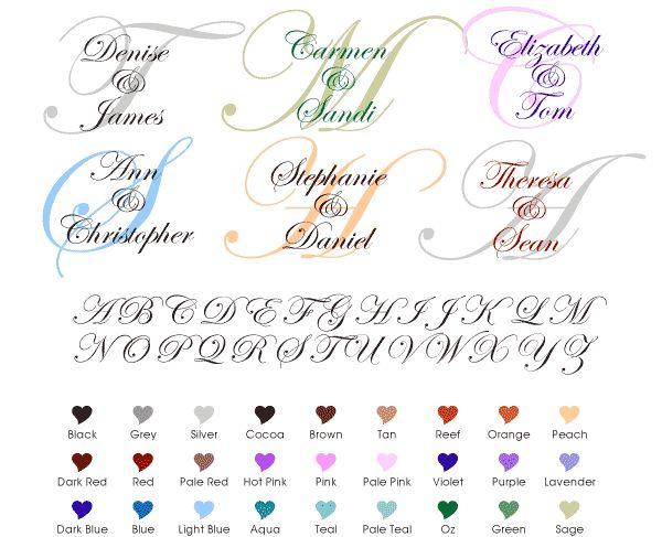 Create Your Own Wedding Monogram Free