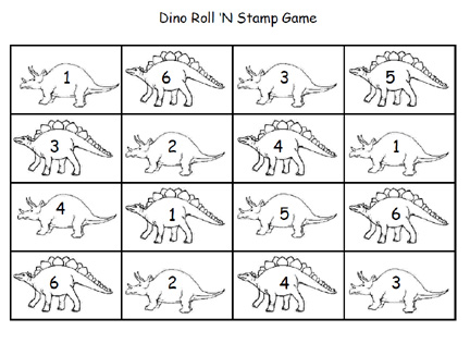Number Names Worksheets dinosaur math worksheets : Dinosaur Kindergarten Worksheets - color the dinosaur ...