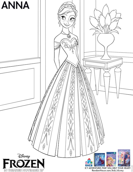 6 Images of Printable Template Anna Frozen
