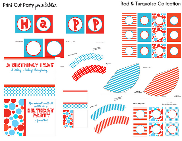 Dr. Seuss Birthday Printables Free