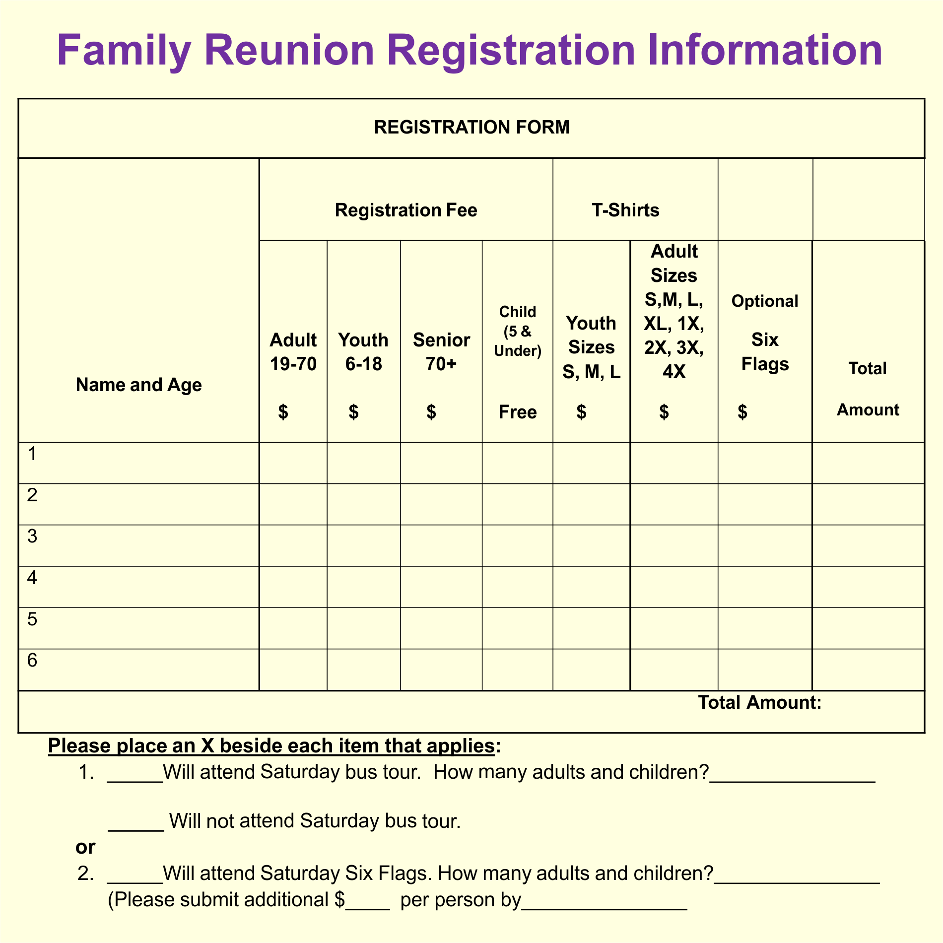 7 best images of family reunion forms printable free printable family reunion forms free. Black Bedroom Furniture Sets. Home Design Ideas