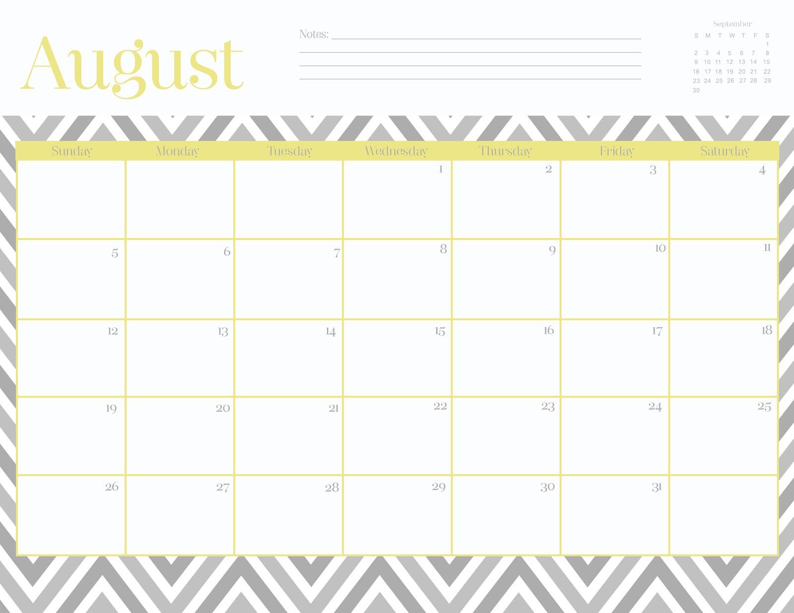 Free Cute Printable June 2015 Calendar