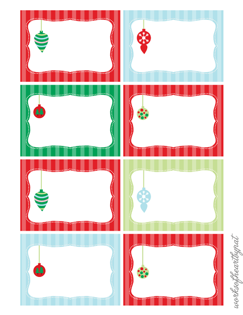 ... Free Print Christmas Labels and Free Printable Editable Christmas Tags