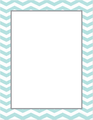 8 Images of Printable Chevron Stationery
