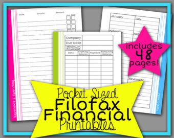 Free Printable Filofax Refills
