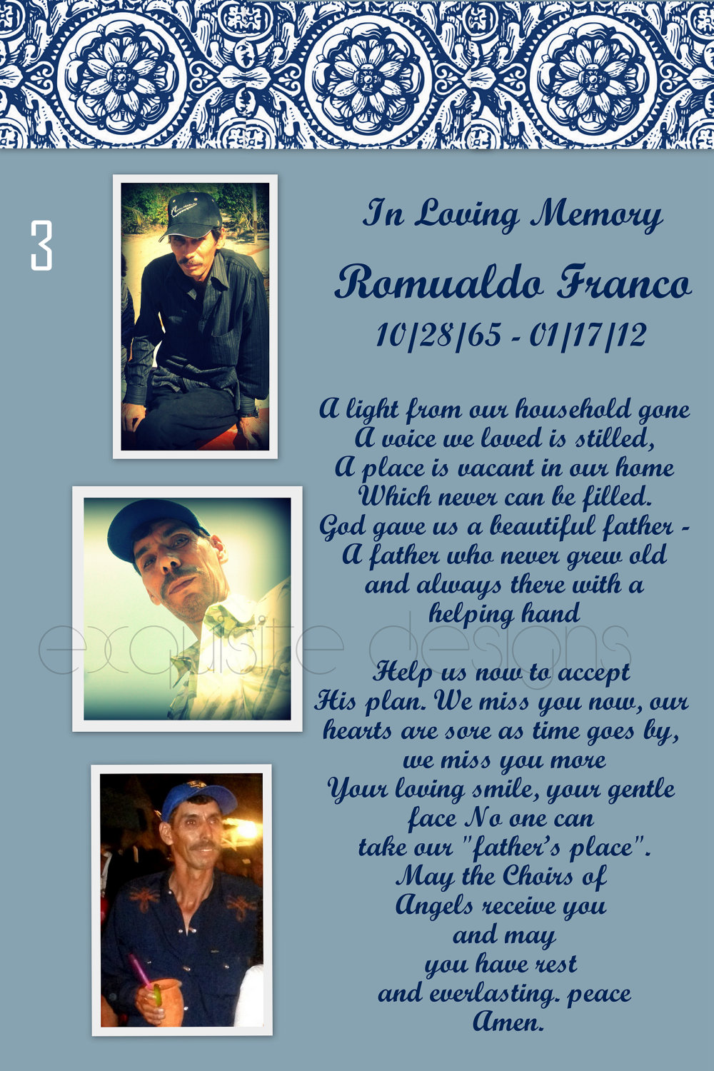 funeral memory cards free templates - resolutions for funerals examples related keywords