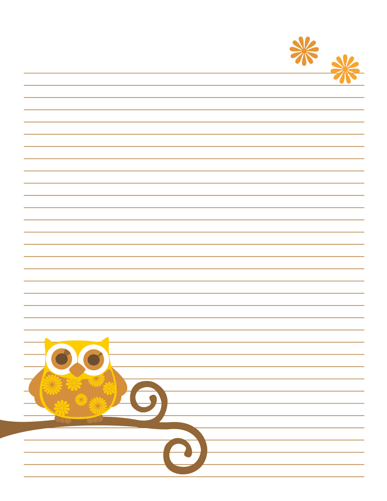 8 Best Images Of Cute Free Printable Notes Page