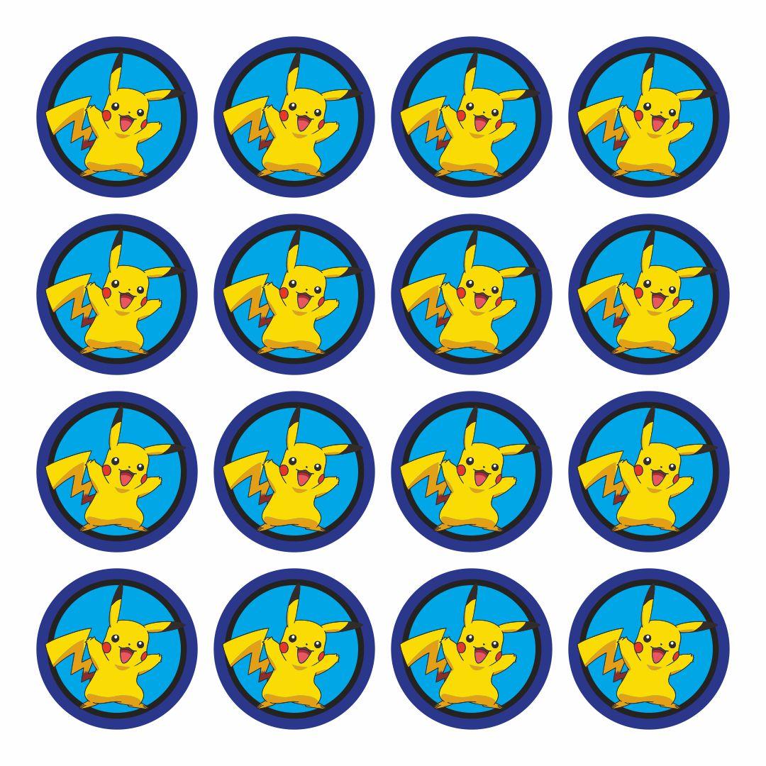 Printable Pokemon Cupcake Toppers