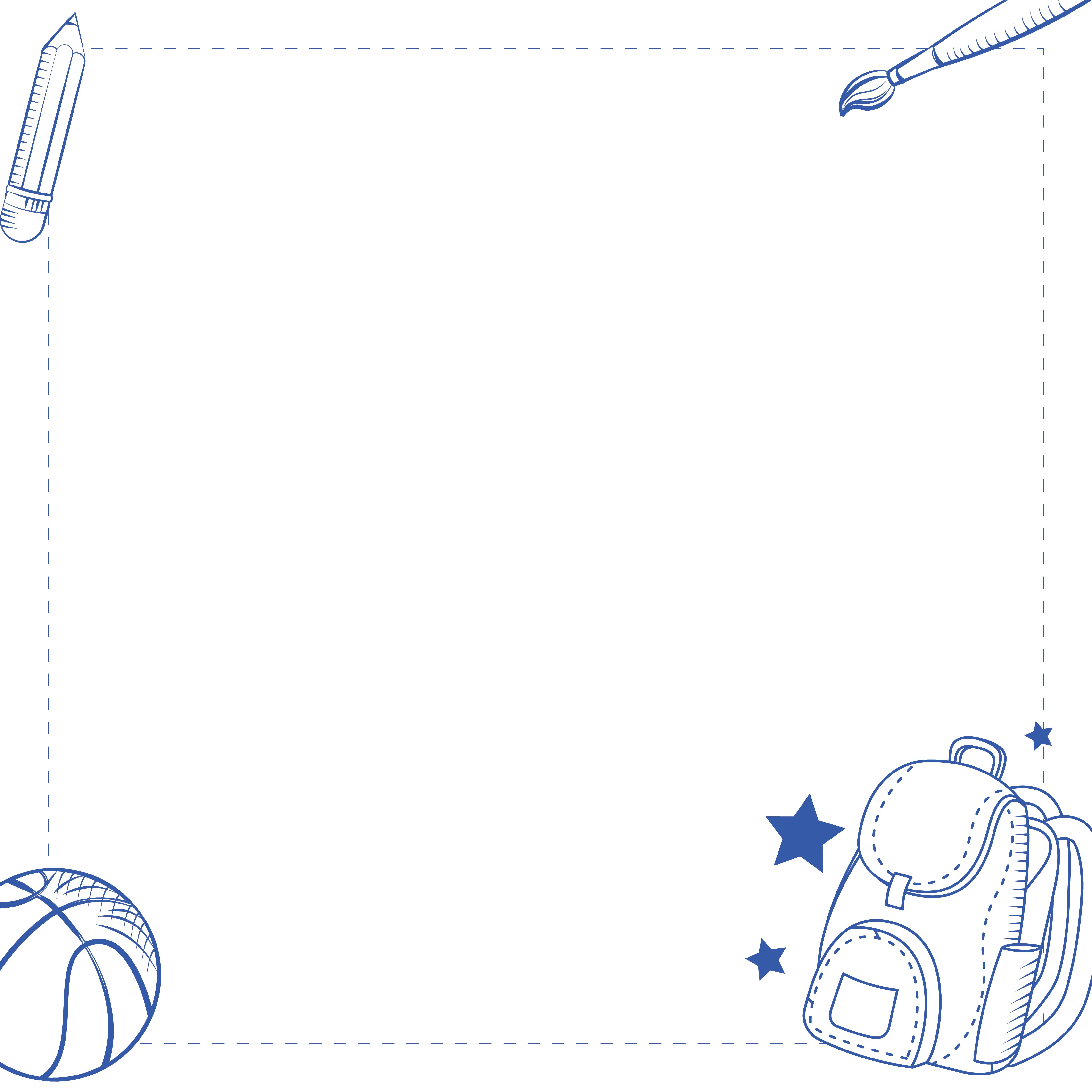 9 Images of Printable School Stationery Unlined