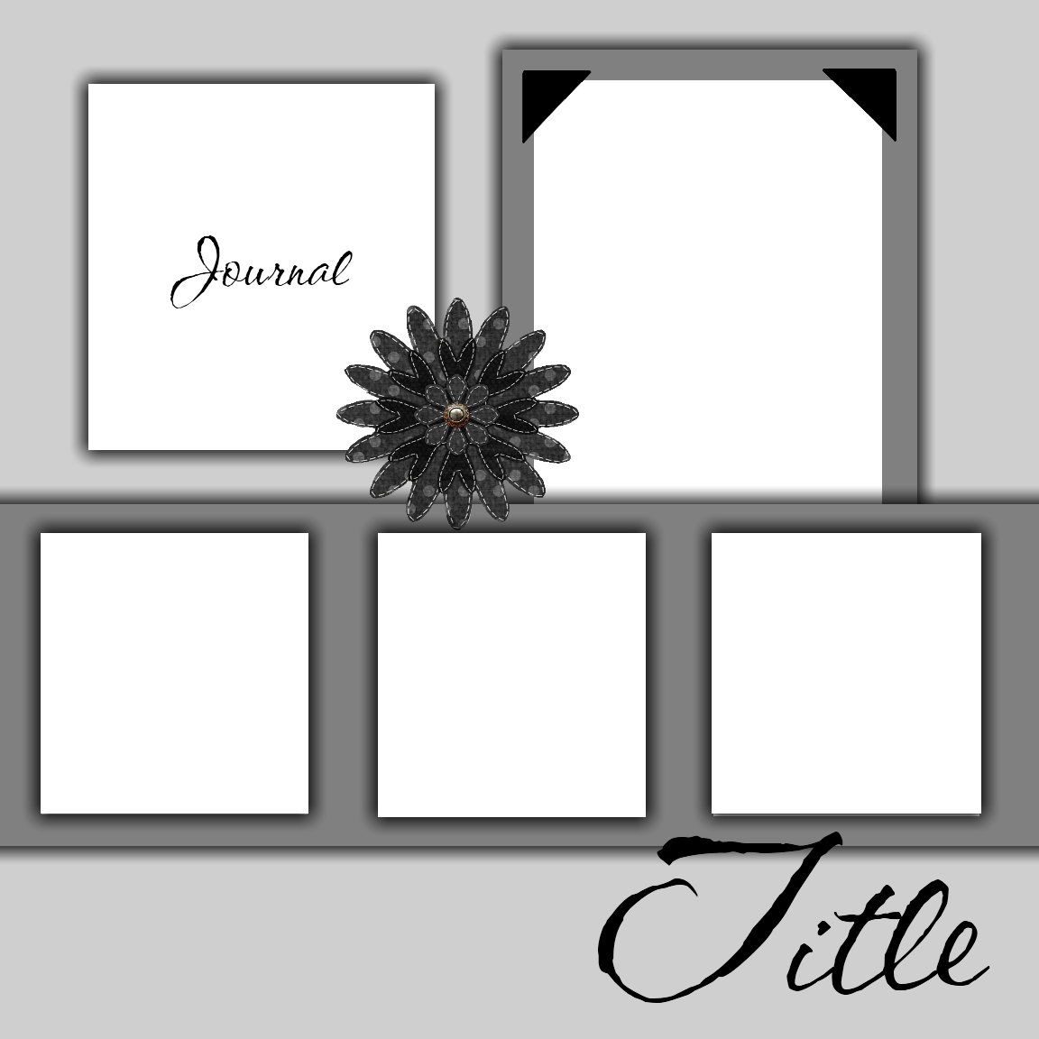 6 Images of Scrapbook Layout Templates Free Printable