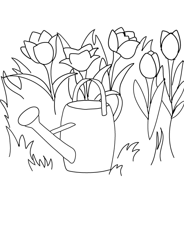 Free Printable Spring Clip Art