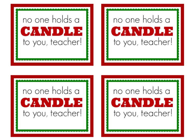 7 Images of Free Printable Tags For Teachers