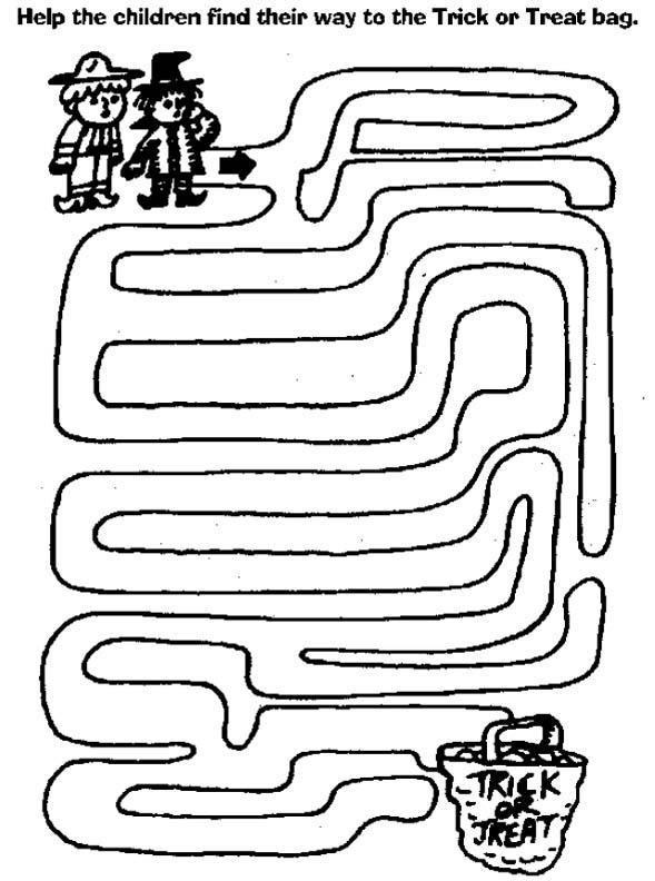 5 Best Images of Maze Free Printable Preschool Pumpkin - Free ...