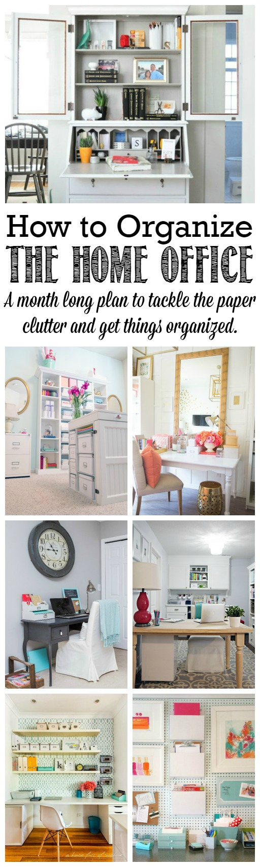 5 Images of Home Office Fall Cleaning Printables
