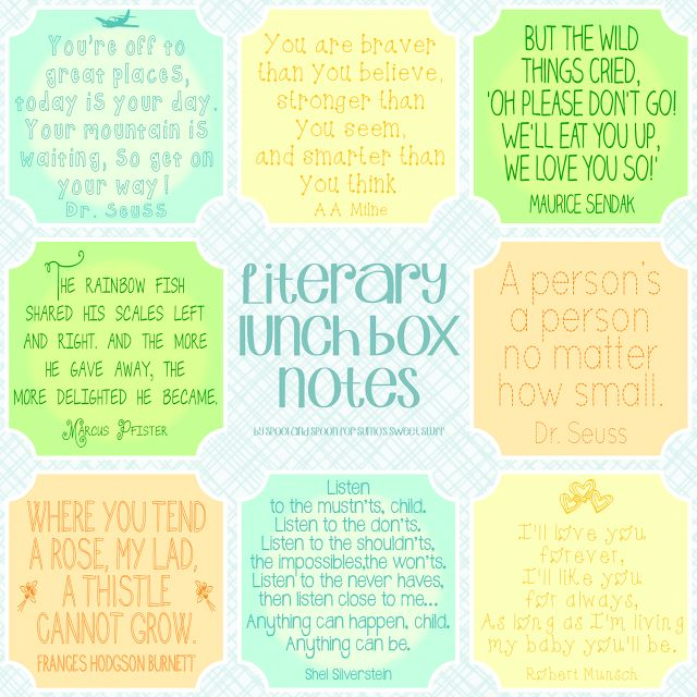 6 Images of Just Notes Printables