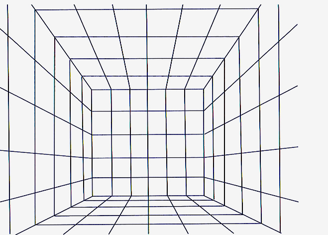 6 Images of Perspective Drawing Grids Printable