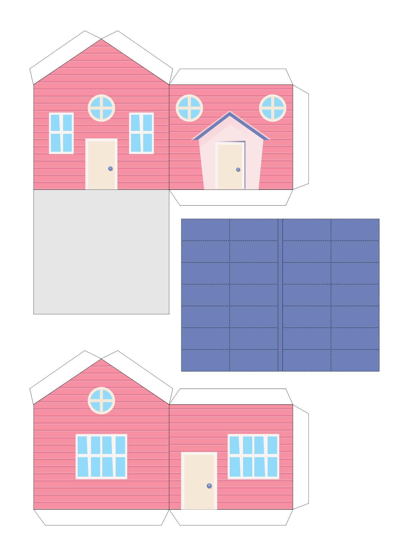 Paper Model Buildings to Print