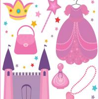 Princess Printable Scrapbook Paper