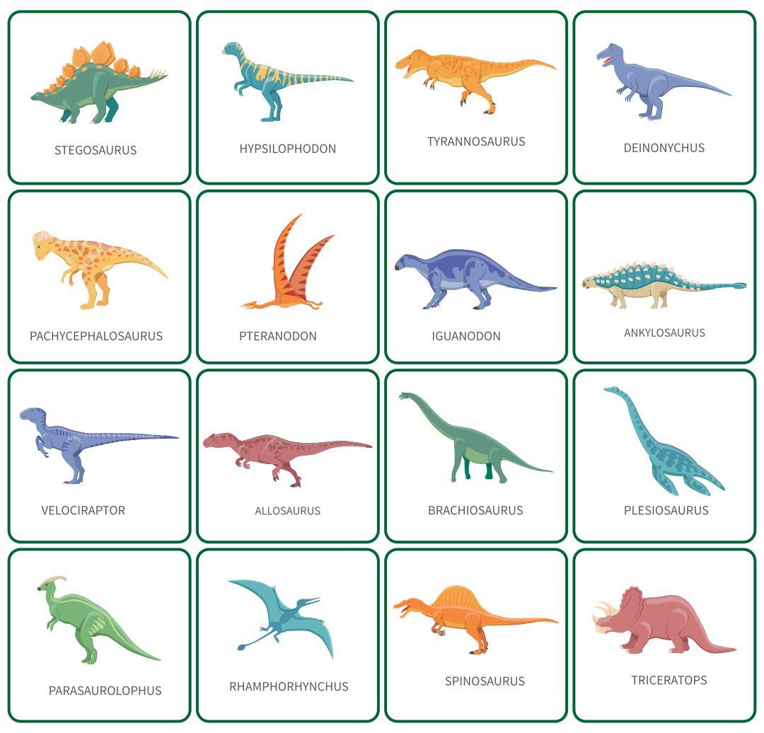 Printable Dinosaur Book
