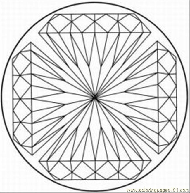 7 Images of Kaleidoscope Printable Coloring Pages